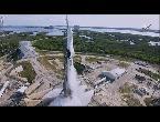 شاهد عملية انطلاق ناجحة لمركبة الشحن الفضائية دراغون التابعة لـسبيس إكس