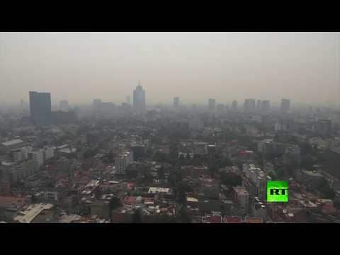 إعلان حالة الطوارئ في المكسيك بسبب تلوث الهواء