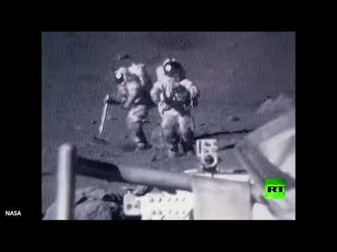 وكالة ناسا تنشُر لقطات طريفة لرواد فضاء على سطح القمر