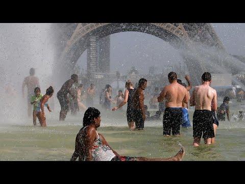 شاهد تقلبات الطقس في أوروبا من الحرارة الشديدة إلى الأمطار الغزيرة