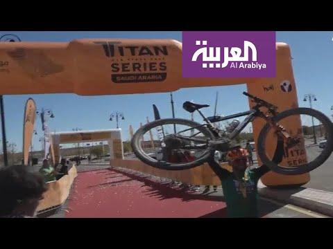 شاهد طواف السعودية في الرياض يشهد مشاركة 130 دراجًا