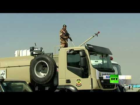 شاهد تدريبات للجيش الإيراني للوقاية من فيروس كورونا