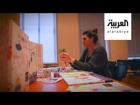 شاهد الأردنية ليلى محارب لتبسيط مفاهيم رمضان والعيد للأطفال المسلمين في الدنمارك