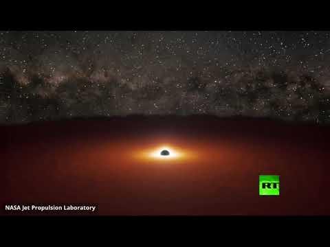 شاهد ثقبان أسودان يُطلقان انفجارًا أكثر سطوعًا من تريليون نجم في رقصة كونية