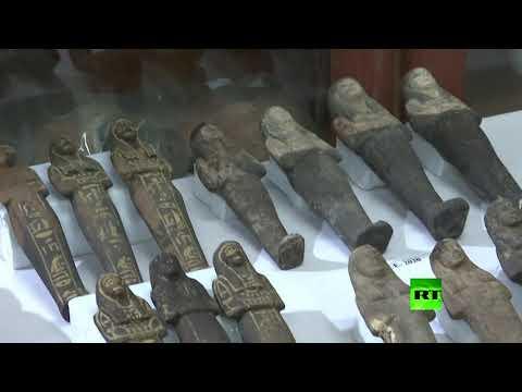 شاهداكتشافات أثرية بمنطقة سقارة في مصر تضم معبدا جنائزيا خاصا بالملكة نعرت