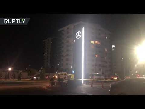 شاهد مكان سقوط الصواريخ في أربيل