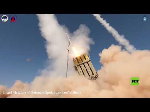 شاهد وزارة الدفاع الإسرائيلية تجري اختبارات ناجحة لمنظومة محدثة لـالقبة الحديدية