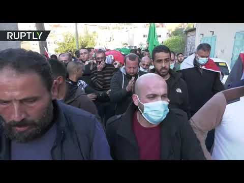 شاهدمقتل فلسطيني برصاص قوات الاحتلال الإسرائيلي