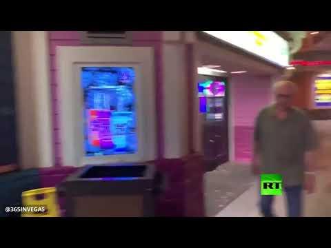 جحافل الجنادب تغزو مدينة لاس فيغاس الأميركية