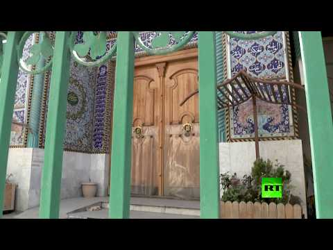 شاهد مساجد بغداد مغلقة أمام المصلين في أول أيام رمضان
