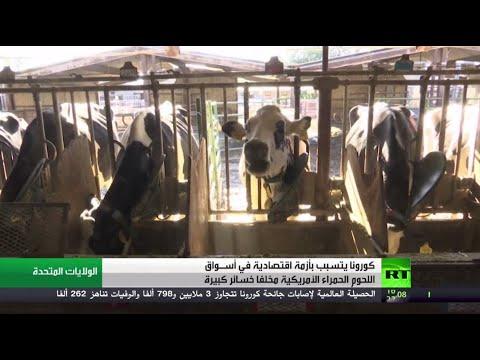 شاهد كورونا يتسبب بأزمة في أسـواق اللحوم الأميركية مخلفًا خسائر كبيرة