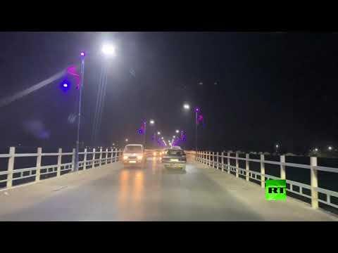 شاهد إعادة فتح الجسر العتيق في الرقة السورية بين ضفتي الفرات