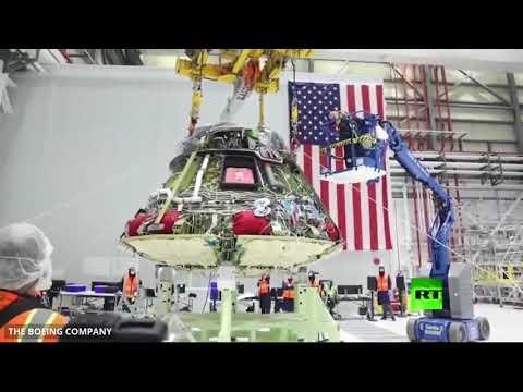 شاهد المراحل الكاملة لتصميم مركبة بوينغ ستارلاينر الفضائية