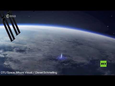 شاهدمحطة الفضاء الدولية تسجل ظواهر جوية فريدة من نوعها