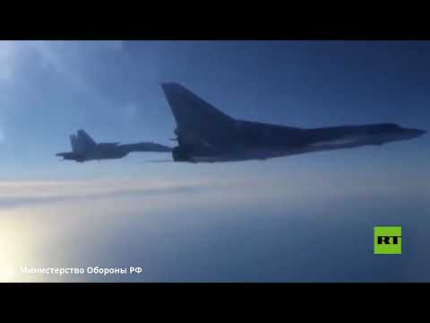 شاهدالدفاع الروسية تنشر فيديو لتحليق جديد لقاذفات تو22 فوق مياه البحر الأسود