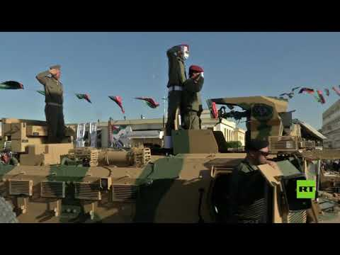 شاهدعرض عسكري في مصراتة احتفالًا بالذكرى العاشرة للثورة الليبية
